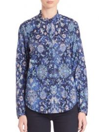Rebecca Taylor - Dreamweaver Voile Top at Saks Off 5th