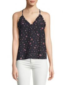 Rebecca Taylor - Mia Floral-Print Silk Camisole at Saks Off 5th