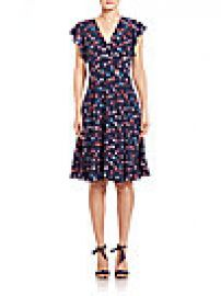 Rebecca Taylor - Silk Sakura A-Line Dress at Saks Fifth Avenue
