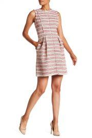 Rebecca Taylor   Sleeveless Optic Tweed Dress   Nordstrom Rack at Nordstrom Rack