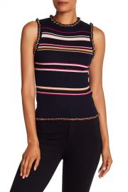 Rebecca Taylor   Striped Knit Tank   Nordstrom Rack at Nordstrom Rack