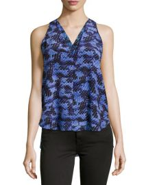 Rebecca Taylor Abstract Print Tank at Last Call