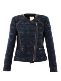 Rebecca Taylor Boucle and Leather Jacket at Matches