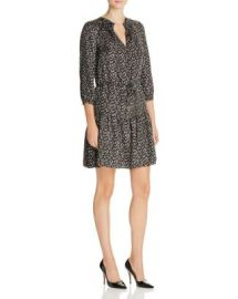 Rebecca Taylor Dragonfly Silk Dress at Bloomingdales