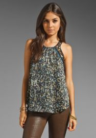 Rebecca Taylor Embellished Tank in Multi  REVOLVE at Revolve