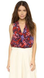 Rebecca Taylor Flame of the Forest Top at Shopbop
