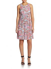 Rebecca Taylor Floral Dress at Saks Off 5th