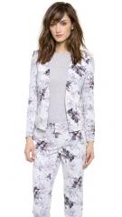Rebecca Taylor Floral Print Blazer at Shopbop