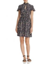 Rebecca Taylor Floral Silk Dress - 100  Exclusive at Bloomingdales