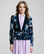 Rebecca Taylor Hawaii Zip Jacket at Neiman Marcus