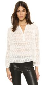 Rebecca Taylor Ice Cap Top at Shopbop