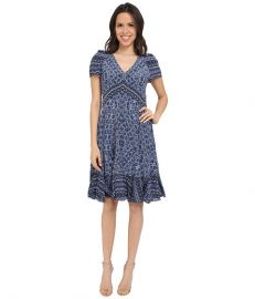 Rebecca Taylor Marrakech Paisley Dress at Zapposcom at Zappos