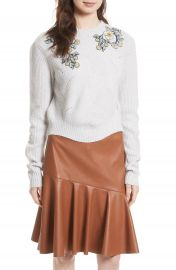 Rebecca Taylor Merino Wool Blend Pullover at Nordstrom