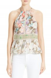 Rebecca Taylor Mix Print Tank at Nordstrom