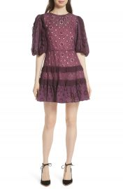 Rebecca Taylor Pinwheel Eyelet Dress at Nordstrom