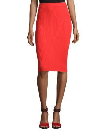 Rebecca Taylor Ribbed Pencil SKirt at Neiman Marcus