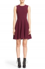 Rebecca Taylor Seam Detail Sleeveless Fit   Flare Dress at Nordstrom