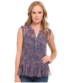 Rebecca Taylor Sleeveless Static Ruffle Top at 6pmcom at 6pm