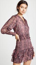 Rebecca Taylor Snake Smock Dress at Shopbop