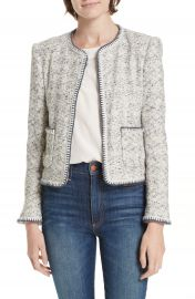 Rebecca Taylor Speckled Tweed Jacket at Nordstrom