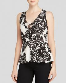 Rebecca Taylor Tank - Splashy Flower Print at Bloomingdales