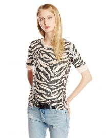 Rebecca Taylor Tiger Sequin Top at Amazon