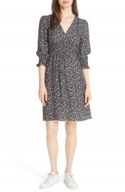 Rebecca Taylor Zelma Floral Silk Dress   Nordstrom at Nordstrom