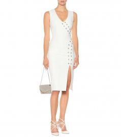 Rebecca Vallance Embellished crêpe dress at My Theresa