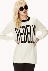 Rebelle Sweater at Forever 21