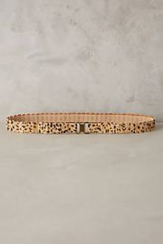 Recitation Calf Hair Belt at Anthropologie