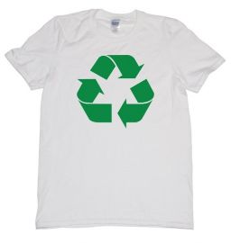 Recycle logo shirt at Amazon