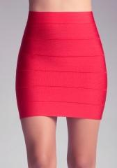 Red Bandage Skirt at Bebe