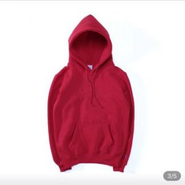 Red Champion Hoodie at Urban Outiftters