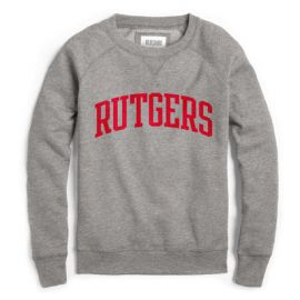 Red Shirt Raglan Crew by Rutgers at Rutgers