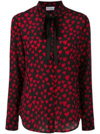 Red Valentino Heart Embroidered Blouse  595 - Buy Online - Mobile Friendly  Fast Delivery  Price at Farfetch