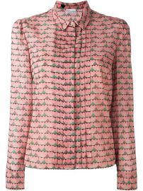 Red Valentino Heart Print Shirt at Farfetch