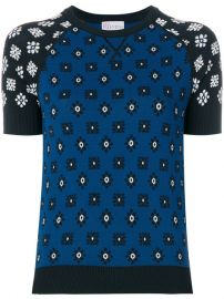 Red Valentino Short Sleeve Sweater at Farfetch