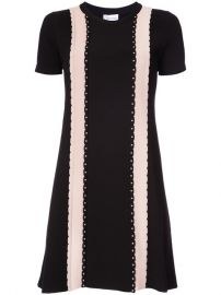 Red Valentino Studded Detail T-shirt Dress  1 230 - Shop AW17 Online - Fast Delivery  Price at Farfetch