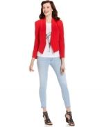 Red blazer by Rachel Roy at Macys