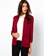 Red blazer like Robins at Asos