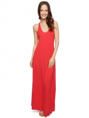 Red maxi dress at Splendid