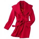 Red shawl coat like Rachels at Target