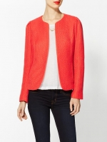 Red tweed jacket at Piperlime at Piperlime