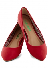 Reel Simple Flat in Red at ModCloth