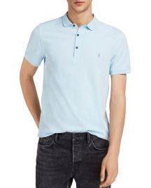 Reform Slim Fit Polo All Saints at Bloomingdales