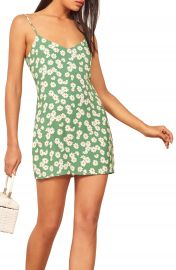 Reformation Seville Print Minidress   Nordstrom at Nordstrom