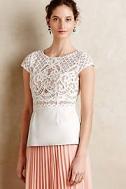 Regatta Peplum Top at Anthropologie