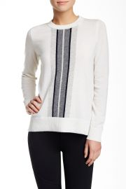 Regimental Stripe Cashmere Sweater at Nordstrom Rack