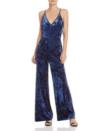 Regina Velvet Jumpsuit Adelyn Rae at Bloomingdales