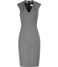Reiss Austin tailored dres grey at Reiss